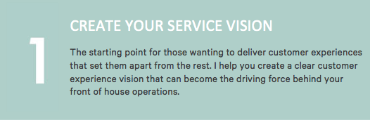 Create Your Service Vision